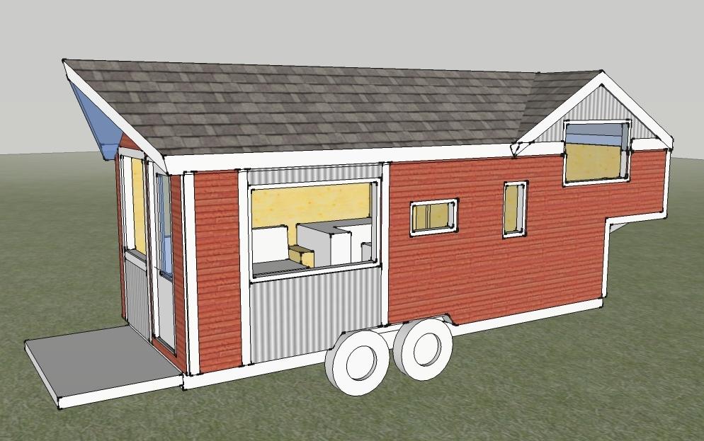 designing our tiny home Clothesline Tiny Homes