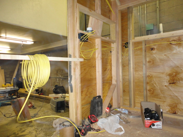 tiny house progress electrical wiring clothesline tiny