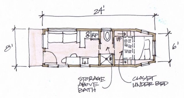 28+ [ floor plans for tiny houses on wheels ] | tiny house plans