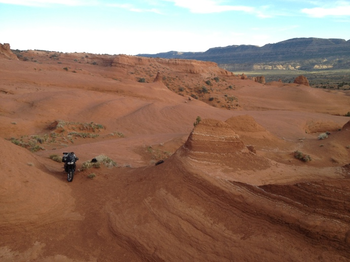 Shane's motorcycle trip through Utah.