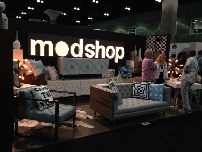 Dwell on Design 2014 - Modshop's booth.