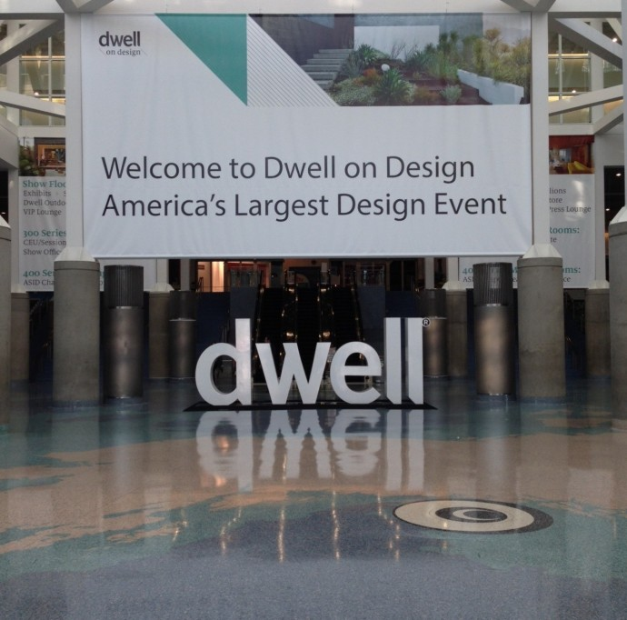 Dwell on Design 2014 - in downtown Los Angeles at the Convention Center.  Downtown L.A. has gotten so much better since Gensler (one of my former employers) finished the L.A. Live development.