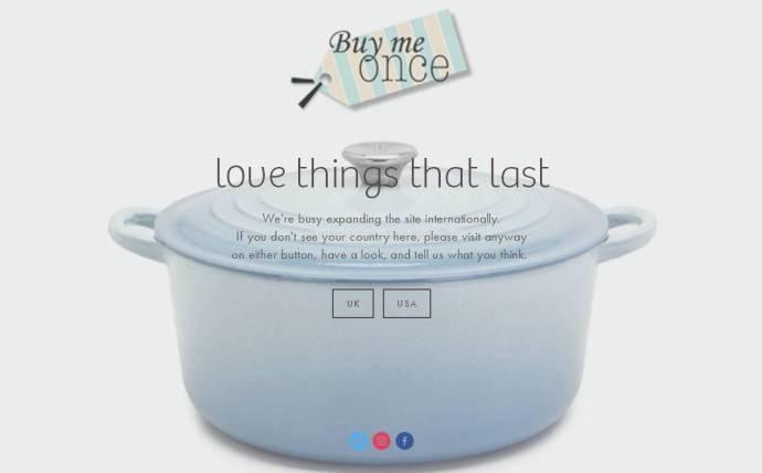 blog - buy me once